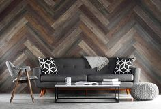 Planks, wood look paneling, are peel & stick wood look wall planks that add the warmth & texture of wood. Easy to create your own pallet wall or reclaimed wood wall. Pallet Walls, Wooden Pallet Furniture, Wood Pallets, Furniture Ideas, Furniture Design, Stick On Wood Wall, Peel And Stick Wood, Wood Sticks, Unique Home Decor