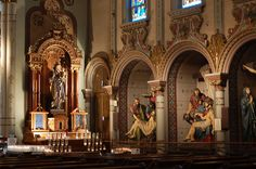 St. Anthony's, an incredibly unique chapel in Pittsburgh, houses the largest…