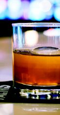 Bulleit Rye and Disaronno Amaretto star in this libation, served in a chilled flask. Get the 'Social Misfit' #recipe. #cocktail