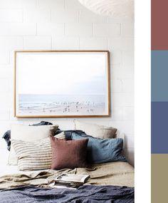 autumn bedding palette - bedroom relooking autumn winter - ITALIANBARK interior design blog