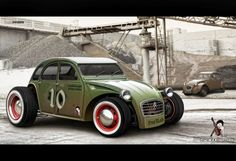 1957 Citroen 2CV Rat Rod ✏✏✏✏✏✏✏✏✏✏✏✏✏✏✏✏ AUTRES VEHICULES - OTHER VEHICLES ☞ https://fr.pinterest.com/barbierjeanf/pin-index-voitures-v%C3%A9hicules/ ══════════════════════ BIJOUX ☞ https://www.facebook.com/media/set/?set=a.1351591571533839&type=1&l=bb0129771f ✏✏✏✏✏✏✏✏✏✏✏✏✏✏✏✏