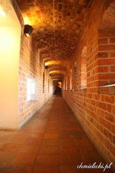 Bytów. Zamkowy korytarz.