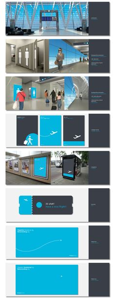 BUD Terminal2 Graphics Concept / 2010 by kissmiklos , via Behance