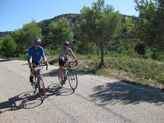 Biking in #Provence with VBT. #France