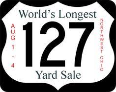 ohio to tennesee  US 127 Yard Sales