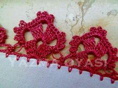 Crochet Edging Patterns, Crochet Lace Edging, Crochet Borders, Irish Crochet, Crochet Stitches, Collars, Diy And Crafts, Crochet Earrings, Embroidery