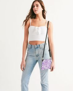 Plaid flower wristlet - Zozo May Uk Fashion, Grunge Fashion, Womens Fashion, International Fashion, Tribal Prints, Purses And Bags, Women's Bags, Camisole Top, Crop Tops