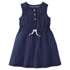 Just One YouMade by Carter's Toddler Girls' Navy