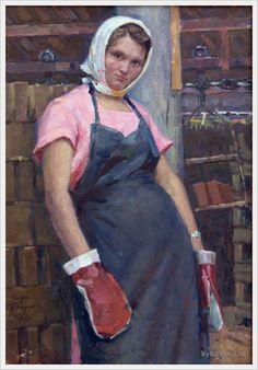«Впечатления дороже знаний...» - Изобразительное искусство СССР. Женщины Страны Советов... 7