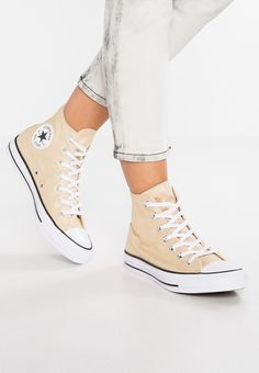 5e5bfa1601c5 Converse CHUCK TAYLOR ALL STAR - Höga sneakers - light twine white black -