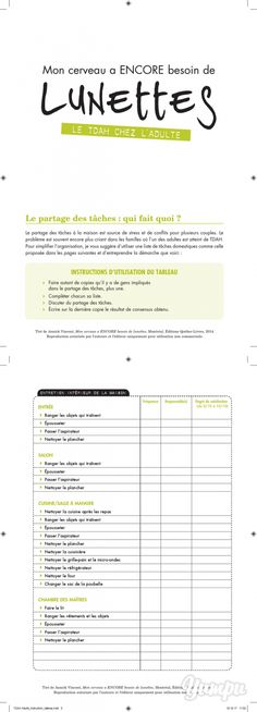 TDAH-Adulte_instruction_tableau - Magazine with 7 pages: TDAH-Adulte_instruction_tableau