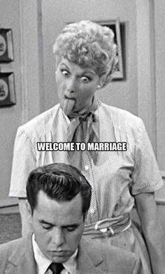 For all you newlyweds! Lol.