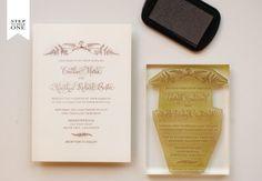 Oh So Beautiful Paper: DIY Tutorial: Vintage Fern Wedding Invitations