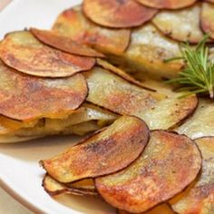 Potato and Leek Galette