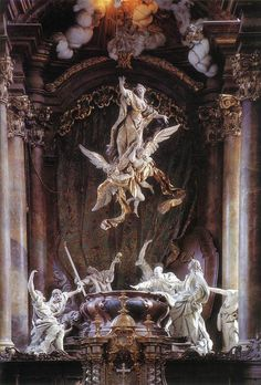 Catholic Art, Religious Art, Art Et Architecture, Baroque Art, Baroque Period Art, Baroque Dress, Baroque Painting, Arte Sketchbook, Classical Art