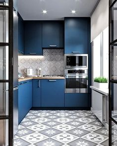 Different and interesting small kitchen design, kitchen ideas, small kitchen remodel, small kitchen decor, small kitchen organization Kitchen Room Design, Best Kitchen Designs, Modern Kitchen Design, Home Decor Kitchen, Interior Design Kitchen, Kitchen Ideas, Boho Kitchen, Small Home Design, Design Bathroom