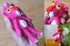 Pink Panter sleutelhanger