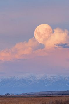 Fantasy Moonrise, Great Salt Lake, Utah, by Scott Stringham, on flickr.