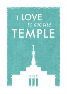 LDS Temple printable file