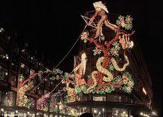 Illuminations de Noël par Léon Gimpel (Paris 1925)