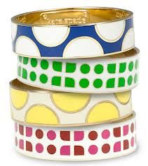 Image from http://www.fashionfuss.com/wp-content/uploads/2009/03/kate-spade-idiom-medium-enamel-bangle.jpg.