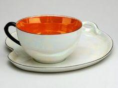 Cup and Saucer GERMAN (GERMAN) C. 1925-1950