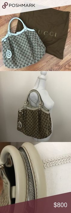 3f0adc92d27 Spotted while shopping on Poshmark  Authentic Gucci Medium Sukey Tote!   poshmark  fashion