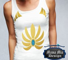 She-ra Princess of Power She-ra costume shirt by MamaMiaDesign