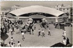 Torroja, Sànchez Arcas, Mercado de Algeciras, 1934-35 Shell Structure, The Other Side, Concrete, Spain, Architecture, Places, Travel, Architects, Cases