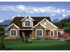 ePlans Craftsman House Plan –2493 Square Feet and 4 Bedrooms from ePlans – House Plan Code HWEPL75819