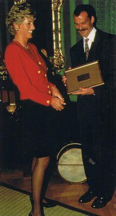 Princess Diana , Luxembourg - Le 17 Septembre 1993