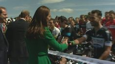Duke and Duchess of Cambridge launch Tour de France in Yorkshire