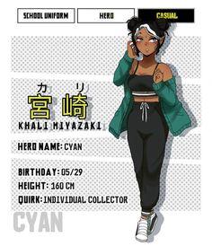 Boku No Hero Academia, Black, Black People