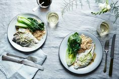 Steamed Fish with Ginger &Scallions