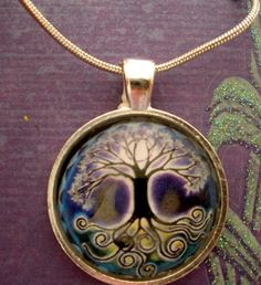 Full Moon Tree of Life Mandala Amulet ~ sink deep roots ~ connect to your intuition ~ dream deeply