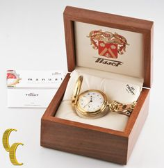 TISSOT DEPUIS 1853 GP POCKET WATCH W/ BOX