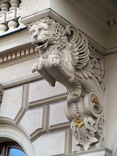 Brno, Czech Republic. Neoclassical Architecture, Architecture Details, Prague Castle, Sharpie Art, Urban Setting, Carving Designs, Most Beautiful Cities, Czech Republic, Art Nouveau