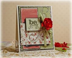 Viva La Verve...Be Yourself by AndreaEwen - Cards and Paper Crafts at Splitcoaststampers