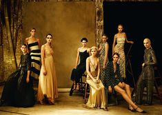In Our Time by Christian MacDonald for Vogue UK February 2015 | The Fashionography
