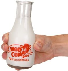 These Milk Bottle Glasses bring back memories of a time when the milkman delivered milk right to your doorstep. Mini Milk Bottles, Hot Sauce Bottles, Milk Jugs, Cute Glasses, Retro Gifts, Carafe, Metal Signs, Milk Glass, Drinking