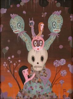 Gary Baseman | The Keeper of Our Destiny (2009) | Artsy