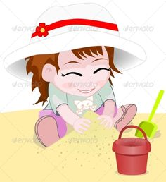Girl on a Beach Vector  #GraphicRiver         girl on a beach vector     Created: 12June13 GraphicsFilesIncluded: JPGImage #VectorEPS Layered: No MinimumAdobeCSVersion: CS6 Tags: cartoon #character #cheerful #child #childhood #color #cute #female #fun #girl #happiness #illustration #isolated #kid #kindergarten #little #one #playing #playtime #preschool #sand #sandcastle #serene #smiling #spade #summer #toddler #vector #white #young