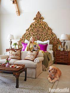 Inside Cindy Rinfret's Magical Bedroom Retreat