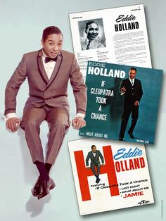 "Eddie Holland, Jr. (b. Oct. 30, 1939) is an American singer, songwriter & record producer. As part of the Holland/Dozier/Holland production & songwriting axis, he helped pioneer the classic Motown sound of the 1960s with hits like ""Can I Get A Witness"", ""Baby, I Need Your Loving"", ""Jimmy Mack"", ""Stop! In The Name of Love"" & many more. In 1967, HDH split from Motown and in 1970 formed their own labels, Invictus & Hot Wax where they wrote and produced hits for Chairmen of the Board & Freda…"