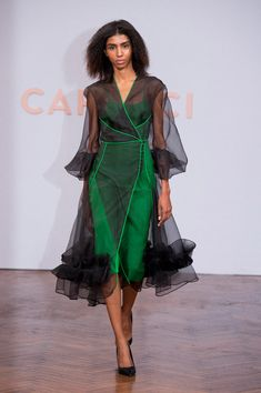 Capucci at Milan Fashion Week Spring 2018 - Runway Photos