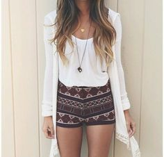 Imagen vía We Heart It #fashionable #girl #outfit #summer #cute