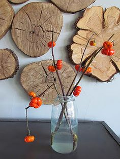 Tree stump wall art - design from my favorite decor store, Red, in Fredericksburg, TX