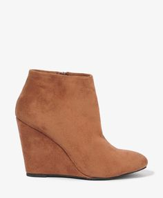 $22.80 Wedge Booties | FOREVER21 - 2017306097