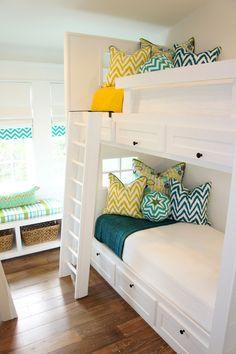 beach house bunk room | Cara McBroom