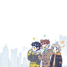 Haikyuu Funny, Haikyuu Fanart, Haikyuu Anime, Haikyuu Volleyball, Volleyball Anime, Kagehina, Kenma, Anime Boy Hair, Akaashi Keiji
